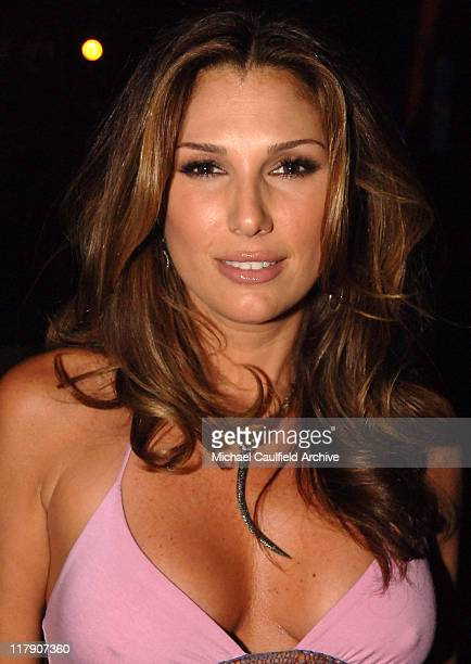 Daisy Fuentes during The 6th Annual Latin GRAMMY Awards Backstage and Audience at Shrine Auditorium in Los Angeles California United States