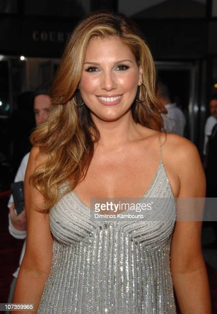Daisy Fuentes during The Fragrance Foundation Hosts the 2007 FiFi Awards Cocktails Dinner and Celebration at The Winter Garden at the World Financial...
