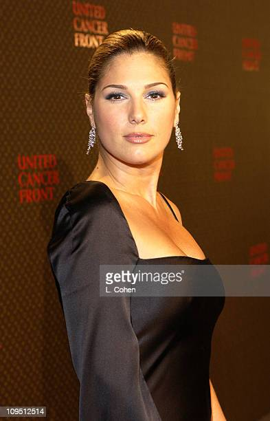 Daisy Fuentes during The Louis Vuitton United Cancer Front Gala Brown Carpet at Private Residence in Beverly Hills California United States