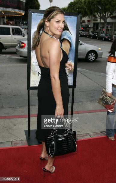Daisy Fuentes during The Notebook Los Angeles Premiere Arrivals at Mann Village Theatre in Westwood California United States