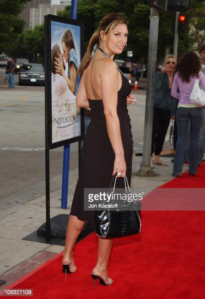 Daisy Fuentes during The Notebook World Premiere Arrivals at Mann Village Theatre in Westwood California United States