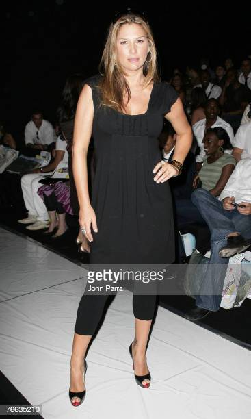 Daisy Fuentes during the Rosa Cha 2008 Fashion Show at the Tent in Bryant Park during the MercedesBenz Fashion Week Spring 2008 on September 8 2007...