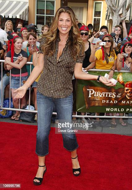 Daisy Fuentes during World Premiere of Walt Disney Pictures' 'Pirates of the Caribbean Dead Man's Chest' Arrivals at Disneyland in Anaheim California...