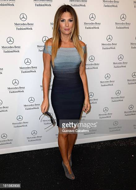 Daisy Fuentes is seen around at Lincoln Center for the Performing Arts on September 8 2012 in New York City