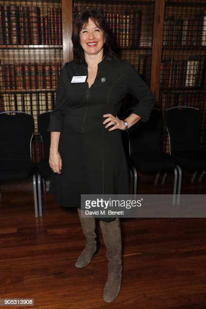 Daisy Goodwin attends The Writers' Guild Awards 2018 held at Royal College Of Physicians on January 15 2018 in London England