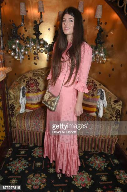 Daisy Hoppen attends the Nick Cave The Bad Seeds x The Vampires Wife x Matchesfashioncom party at Loulou's on November 22 2017 in London England
