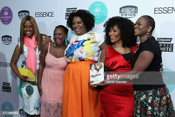 Daisy Lewellyn Naturi Naughton Adrienne C Moore Miko Branch and Vanessa K De Luca attend Essence's Best in Black Beauty Awards sponsored by African...