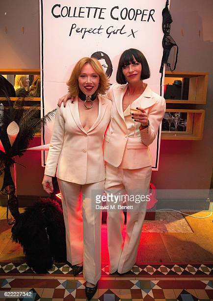 Daisy Lewis and Collette Cooper attend the launch of Collette Cooper's new single 'Perfect Girl' and the 'Collette' suit collaboration with Gresham...