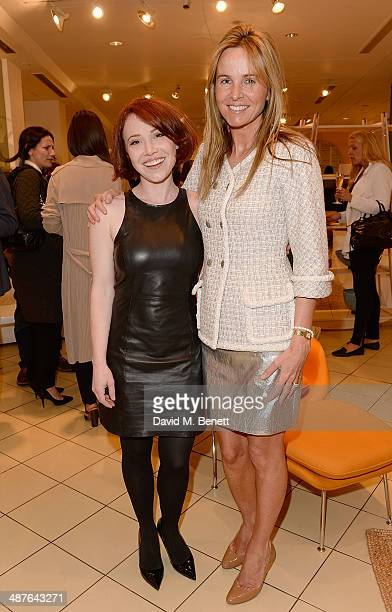 Daisy Lewis and Lady Rothermere attend the 'A Season In France' launch event hosted by Jasper Conran in association with Ciroc Vodka at The Conran...