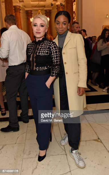Daisy Lewis and Pippa BennettWarner attend Canada Goose x London Celebrating London Flagship Opening and 60th Anniversary at Canada House on November...