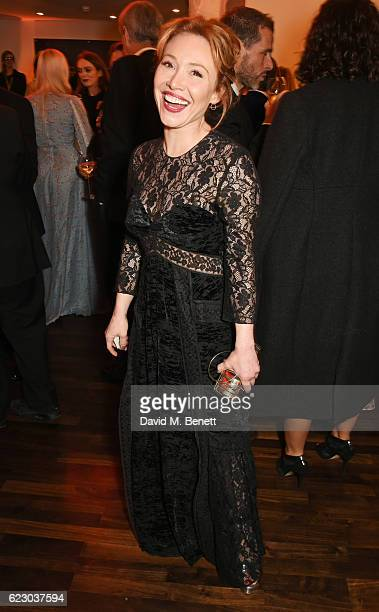 Daisy Lewis attends a cocktail reception at The 62nd London Evening Standard Theatre Awards recognising excellence from across the world of theatre...