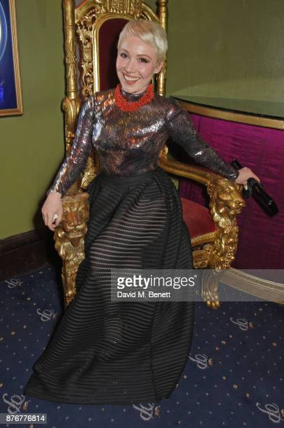 Daisy Lewis attends Chic To Cheek The National Youth Theatre Gala at Cafe de Paris on November 20 2017 in London England