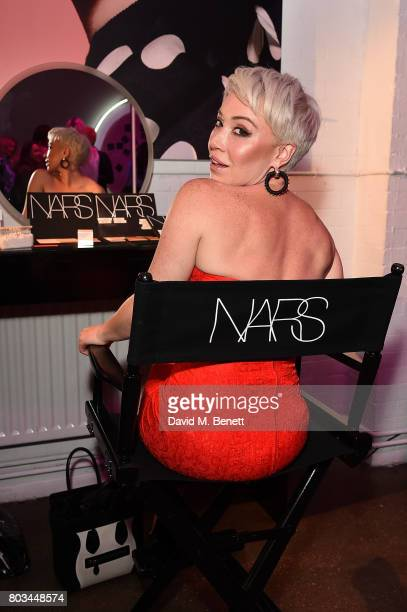 Daisy Lewis attends cosmetics brand NARs summer party alongside VIP friends and fans of the brand at Protein on June 29 2017 in London England