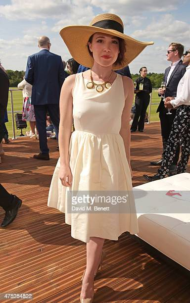 Daisy Lewis attends day one of the Audi Polo Challenge at Coworth Park on May 30 2015 in London England