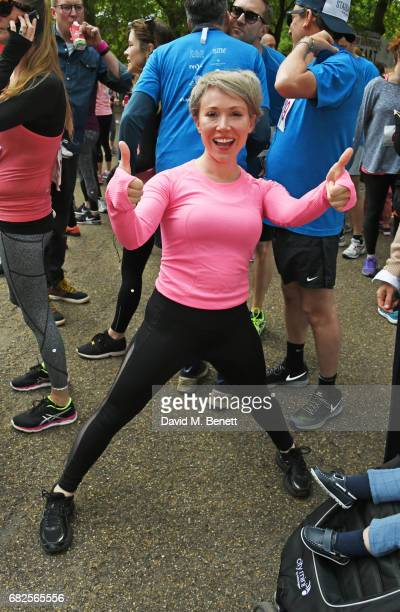 Daisy Lewis attends the Lady Garden 5K 10K Run in aid of Silent No More Gynaecological Cancer Fund in Hyde Park on May 13 2017 in London England