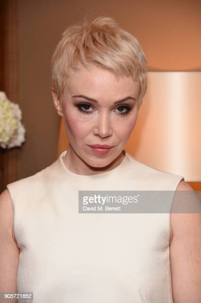 Daisy Lewis attends the Niquesa PreBAFTA dinner at Claridge's Hotel on January 16 2018 in London England