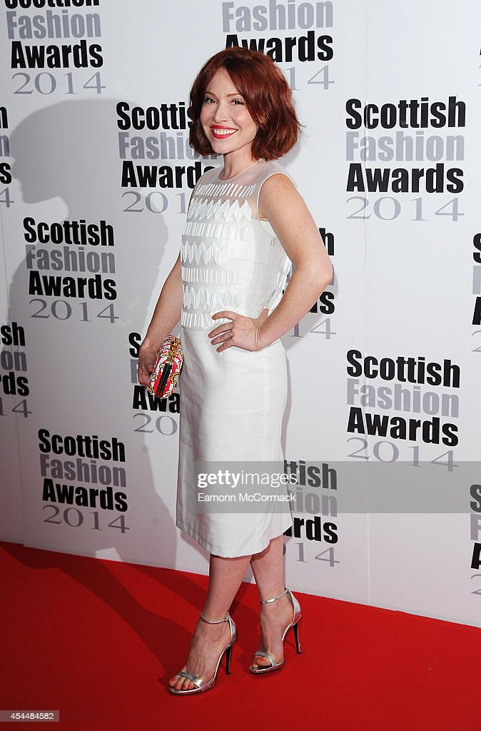 Daisy Lewis attends The Scottish Fashion Awards on September 1, 2014 in London, England.