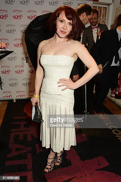 Daisy Lewis attends the Soho Theatre's Alternative Gala party at The Soho Theatre on March 10 2016 in London England