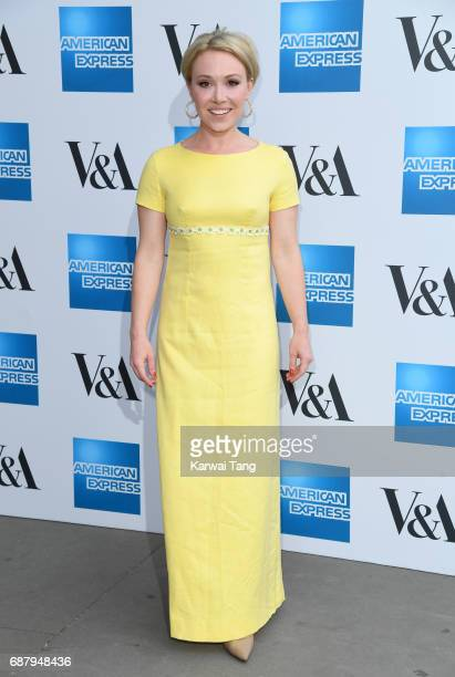 Daisy Lewis attends the Spring 2017 Fashion Exhibition Balenciaga Shaping Fashion at The VA Museum on May 24 2017 in London England