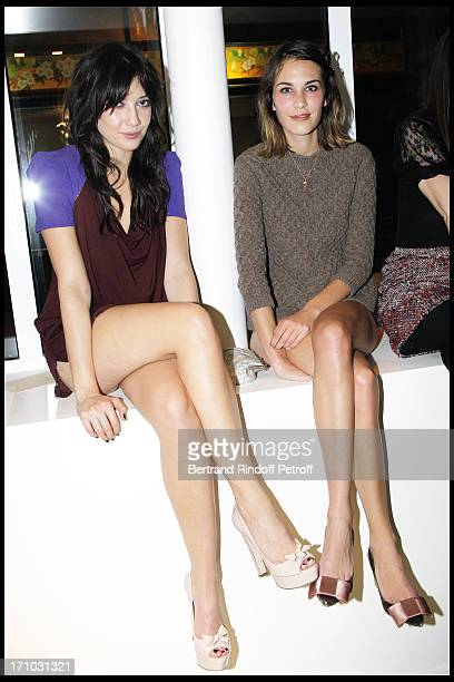 Daisy Lowe Alexa Chung at Every Journey Began In Africa Party For The Exhibition Africa Rising And The Discovery Of The Collaboration Between Edun...