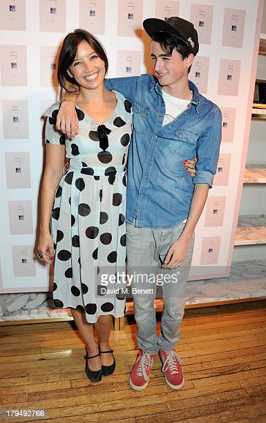Daisy Lowe and brother Alfie Goffey attend the launch of Alexa Chung's first book It at Liberty on September 4 2013 in London England