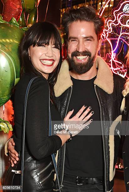 Daisy Lowe and Jack Guinness attend the launch of Coach House Regent Street on November 24 2016 in London England