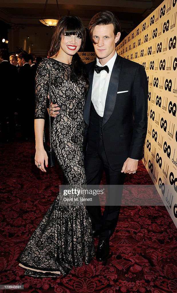Daisy Lowe (L) and Matt Smith arrive at the GQ Men Of The Year Awards 2011 at The Royal Opera House on September 6, 2011 in London, England.