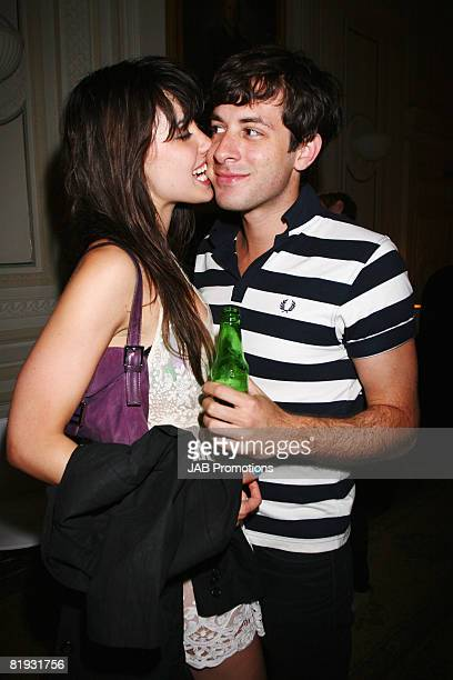 Daisy Lowe and musician Mark Ronson attend the new BT Home Hub House Party launch on Monday 14th July at the In and Out, St James's Square, London....