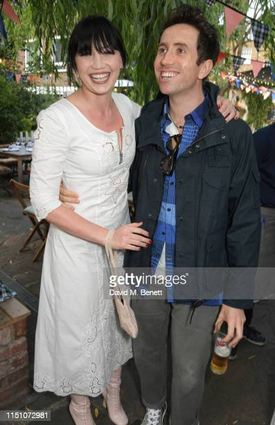 Daisy Lowe and Nick Grimshaw attend the VIP London launch of the Barbour by ALEXACHUNG collection at The Albion on June 20 2019 in London England