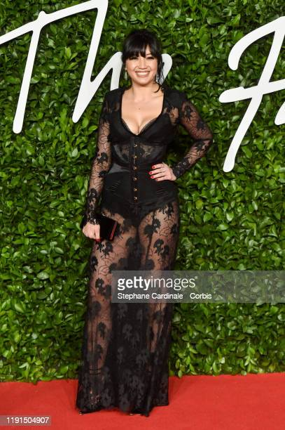 Daisy Lowe arrives at The Fashion Awards 2019 held at Royal Albert Hall on December 02, 2019 in London, England.