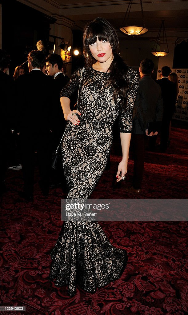 Daisy Lowe arrives at the GQ Men Of The Year Awards 2011 at The Royal Opera House on September 6, 2011 in London, England.