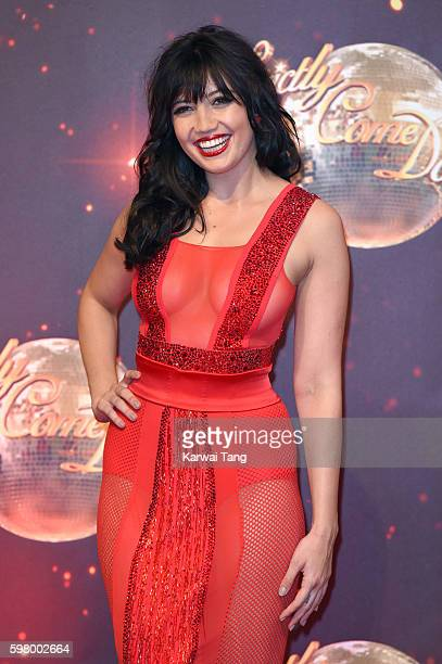 Daisy Lowe arrives for the Red Carpet Launch of 'Strictly Come Dancing 2016' at Elstree Studios on August 30, 2016 in Borehamwood, England.