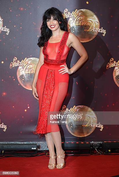 Daisy Lowe arrives for the Red Carpet Launch of 'Strictly Come Dancing 2016' at Elstree Studios on August 30 2016 in Borehamwood England