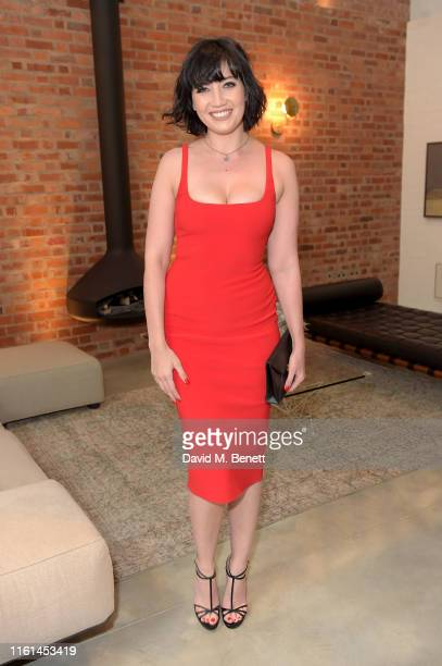 Daisy Lowe at a private onefinestay home at the AMEX Platinum Metal Card Launch Celebrations on July 11, 2019 in London, England.