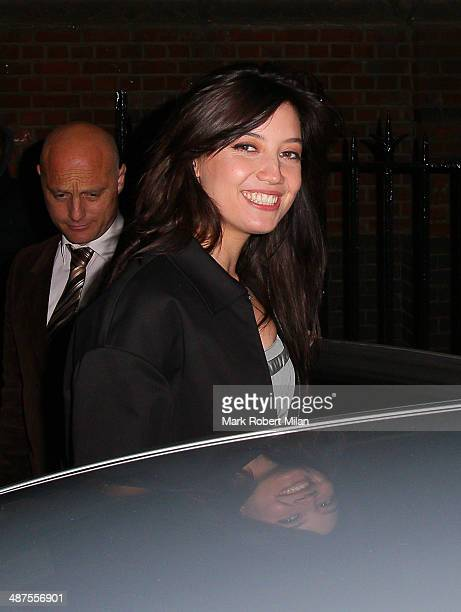 Daisy Lowe at the Chiltern Firehouse for a Prada event on April 30 2014 in London England