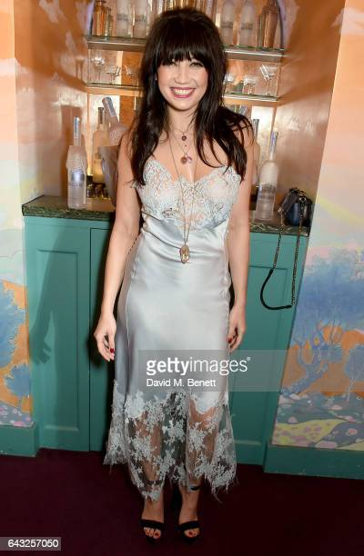 Daisy Lowe at the LOVE and Burberry London Fashion Week Party at Annabel's celebrating Katie Grand and Kendall Jenner's #LOVEME17 on February 20 2017...