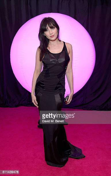 Daisy Lowe at The Naked Heart Foundation's Fabulous Fund Fair in London at Old Billingsgate Market on February 20 2016 in London England