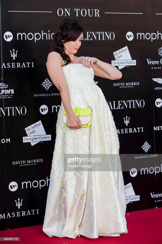 Daisy Lowe attends a gala dinner and auction to celebate the end of the Cash & Rocket tour at Natural History Museum on June 8, 2014 in London, England.