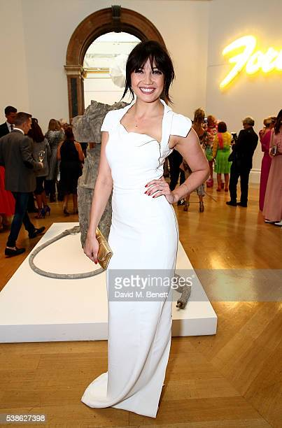 Daisy Lowe attends a VIP preview of the Royal Academy of Arts Summer Exhibition 2016 on June 7 2016 in London England