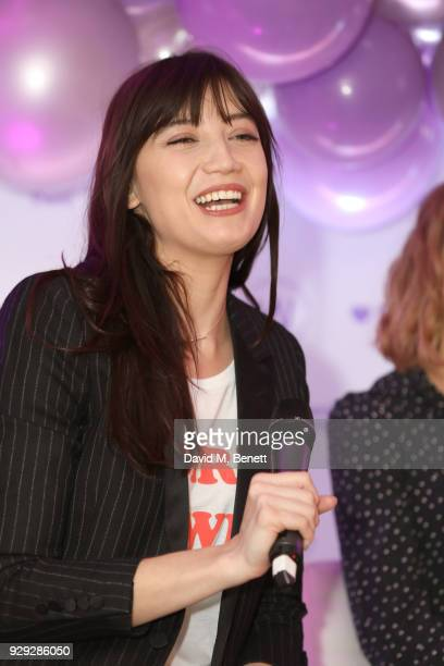 Daisy Lowe attends as Badoo makes a bold statement this International Women's Day with their #WomenOfBadoo event A special menu by Chef Tess Ward and...