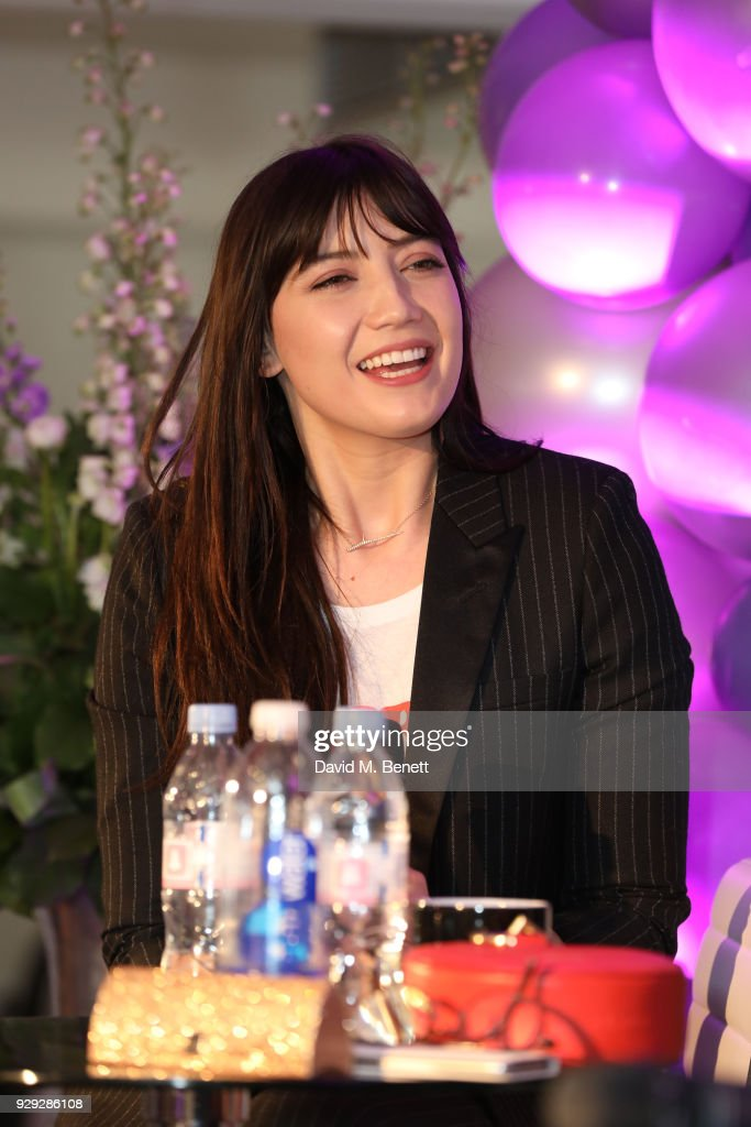 Daisy Lowe attends as Badoo makes a bold statement this International Women's Day with their #WomenOfBadoo event. A special menu by Chef Tess Ward and a panel of inspirational talks from Daisy Lowe, Baroness Karren Brady and Tracy Edwards MBE, hosted by presenter Gemma Cairney. On March 8, 2018 in London, England
