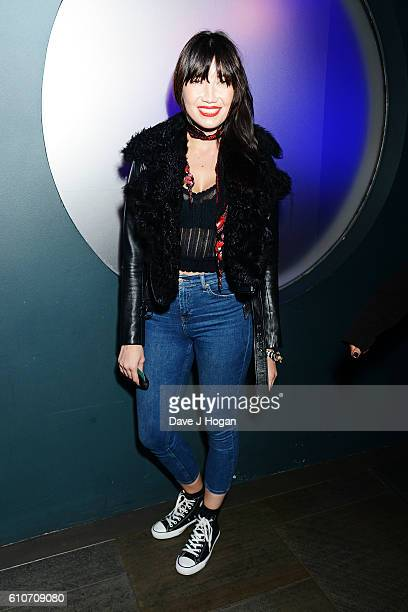 Daisy Lowe attends Britney Spears' performance at The Roundhouse on September 27 2016 in London England