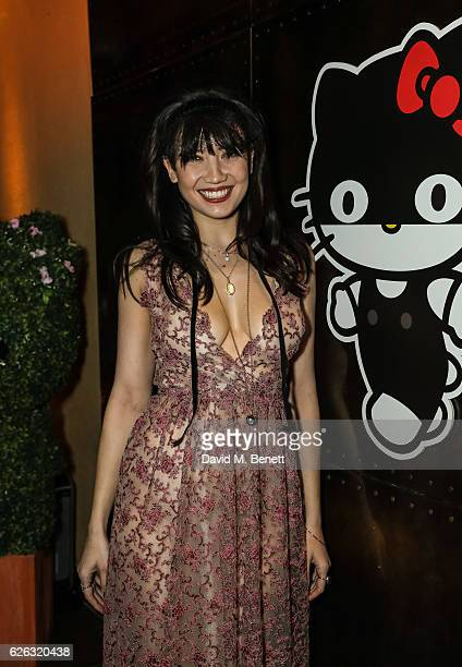 Daisy Lowe attends 'Came to Play' hosted by Daisy Lowe with Hello Kitty and Silver Spoon Attire at Roka on November 28 2016 in London England
