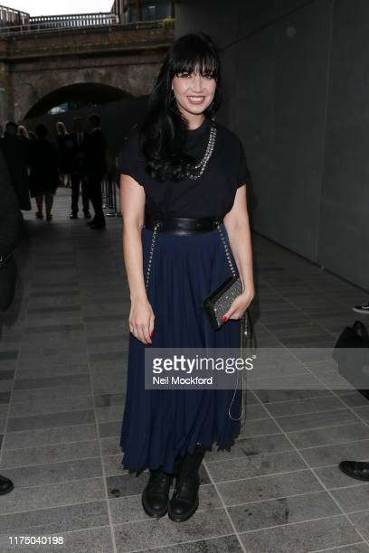Daisy Lowe attends Christopher Kane at Hawley Wharf during LFW September 2019 on September 16, 2019 in London, England.