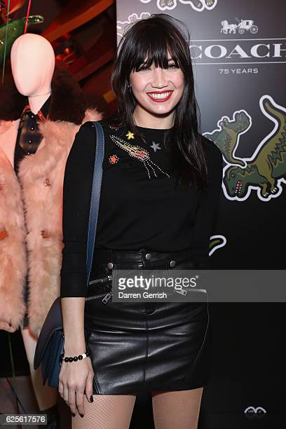 Daisy Lowe attends Coach House Regent Street Launch Party on November 24 2016 in London England