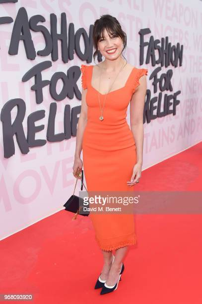 Daisy Lowe attends Fashion for Relief Cannes 2018 during the 71st annual Cannes Film Festival at Aeroport Cannes Mandelieu on May 13 2018 in Cannes...
