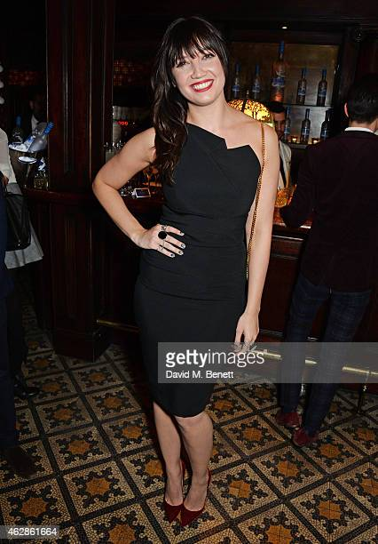 Daisy Lowe attends Harvey Weinstein's BAFTA Dinner in partnership with Burberry GREY GOOSE at Little House Mayfair on February 6 2015 in London...