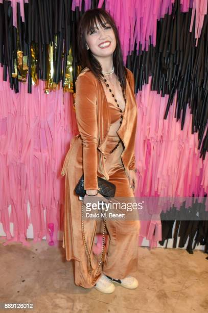 Daisy Lowe attends Nasty Gal UK Pop Up Launch Party on Carnaby Street on November 1 2017 in London England