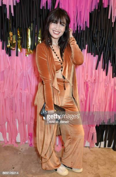 Daisy Lowe attends Nasty Gal UK Pop Up Launch Party on Carnaby Street on November 1, 2017 in London, England.