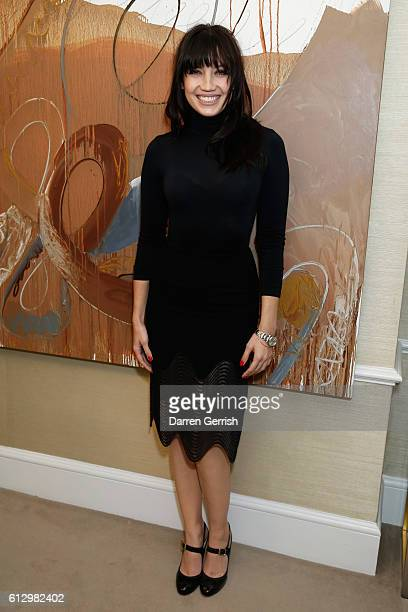 Daisy Lowe attends Peter Piloto Francis Upritchard in partnership with American Express at MATCHESFASHIONCOM on October 6 2016 in London United...